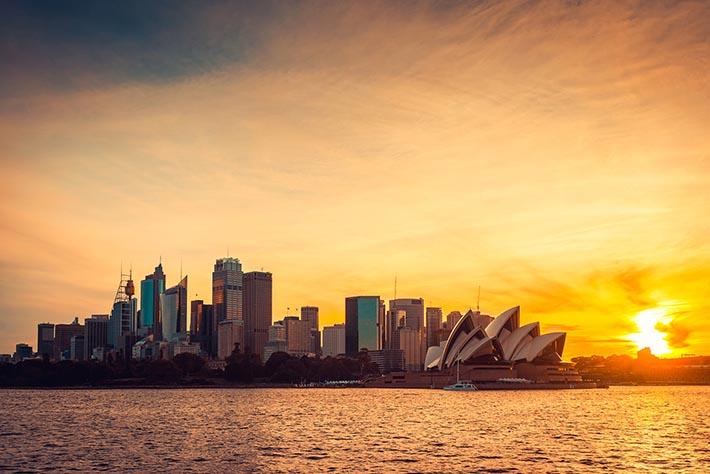 シドニーのシティビュー/オペラハウス