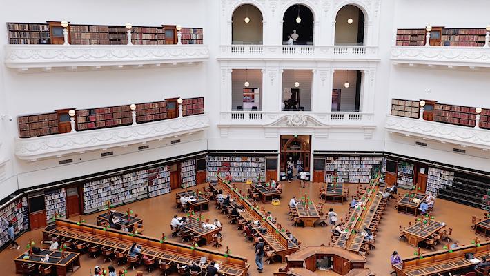 州立図書館'